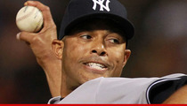 Mariano Rivera -- Shagging Injury Threatens Career of New York Yankees Superstar
