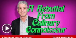 Anthony Bourdain -- Harvey Left Me With A Bad Taste In My Mouth