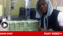 Floyd Mayweather -- Money Shot Proves Ultimate D-Baggery