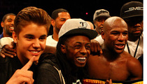 Floyd Mayweather -- Justin Bieber Said Knock You Out!