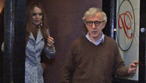 Lindsay Lohan and Woody Allen -- The Manhattan Dinner Mystery