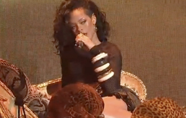 "Watch Rihanna's Sexy ""Saturday Night Live"" Performance"