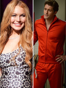 """Glee"" Sneak Peek: Lindsay Lohan and Body Switching!"