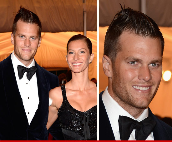 Tom Brady and his new haircut