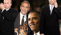 George Clooney's House Under Mega-Lockdown for President Obama Event