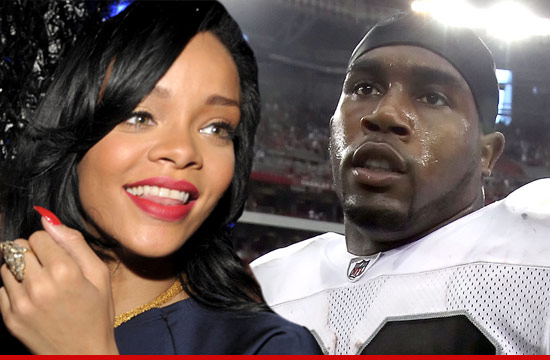 Rihanna and Darren McFadden