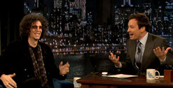 Jimmy Fallon -- I Asked Howard Stern for Advice Before Obama Interview