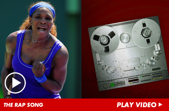 Serena Williams Enters the Rap Game -- Listen to Her 1st Song