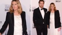 Drew Barrymore Shows Off Growing Baby Bump!