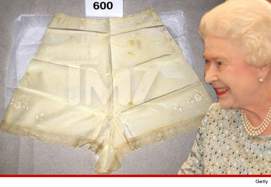 Queen Elizabeth II -- the Royal Panties