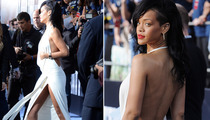 "Rihanna Shows Serious Skin at ""Battleship"" Premiere"