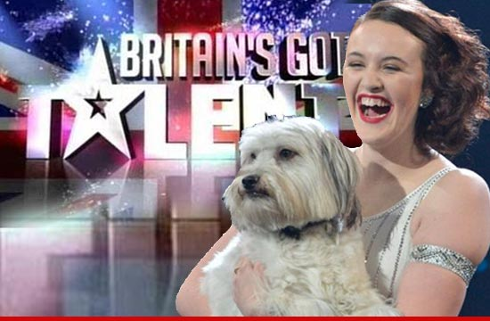 Pudsey, the dog who Britains Got Talent
