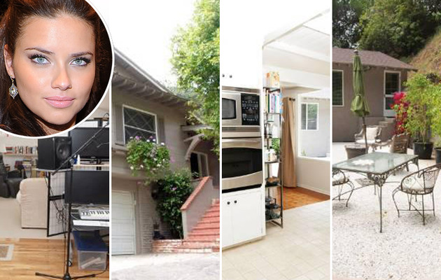 Victoria's Secret Model Adriana Lima Selling Beverly Hills Home