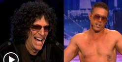 Howard Stern -- Penis Jokes on &#039;America&#039;s Got Talent&#039; Debut
