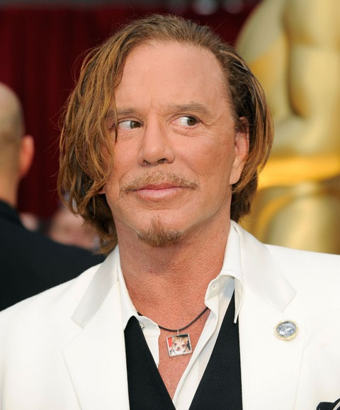 Mickey Rourke's Face -...