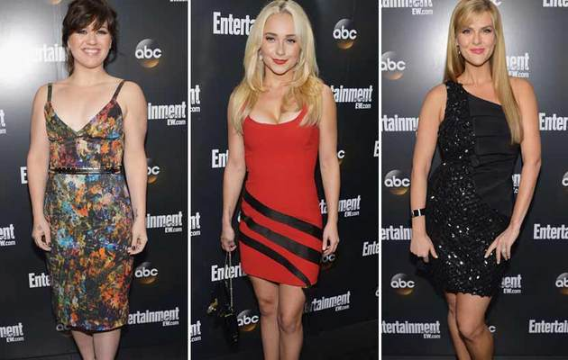 Kelly Clarkson Slims Down, Hayden Panettiere Busts Out in New York!