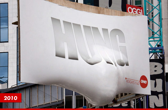 Hung Billboard