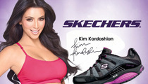 Feds: Kim Kardashian Hocked BOGUS Shoes