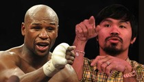 Floyd Mayweather -- I Support Gay Marriage ... Unlike Manny Pacquiao