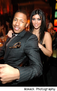 Kim K & Nick Cannon
