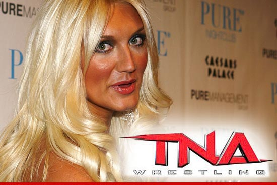 Brooke Hogan is following in her father's giant yellow footsteps