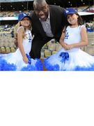 Sophia Grace and Rosie Meet Magic Johnson, Throw Pitch at Dodgers Game!