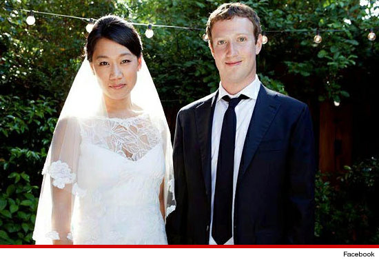 Facebook Owner & CEO, Mark Zuckerberg Weds Priscilla Chan