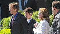Mary Kennedy Funeral -- Family, Friends in Attendance