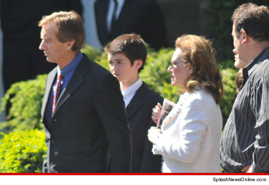 Robert F. Kennedy Jr. was one of several family members and friends in