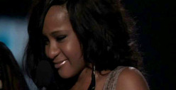 Bobbi Kristina Gives Short, Sweet Speech at Billboard Music Awards