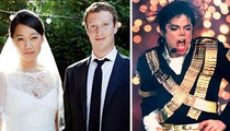 Mark Zuckerberg Wedding -- Michael Jackson Music in Heavy Rotation