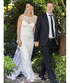 How Much Did Mark Zuckerberg's Bride's Wedding Gown Cost?