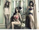 New Kardashian Lingerie Ad: Who's Hottest -- Kim, Khloe or Kourtney?