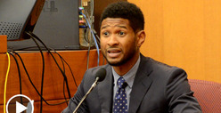 Usher Testifies -- My Ex-Wife Attacked and SPIT on My Girlfriend!!
