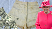 Queen Elizabeth II -- Panty Enthusiast Drops $18k on Used Bloomers