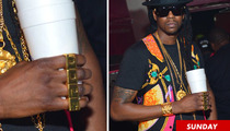 2 Chainz -- It's a 4-Finger Ring ... NOT Brass Knuckles!!!