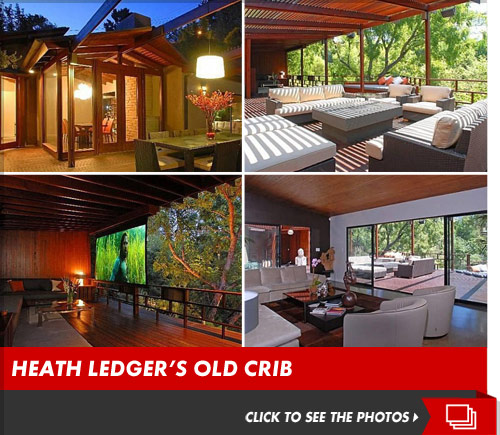 Heath Ledger Treehouse