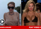 Lindsay Lohan vs. Kate Upton -- You Can't Look