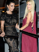 Former Friends Kim Kardashian & Paris Hilton Attend Same Cannes Yacht Party