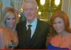 Bill Clinton -- SURROUNDED By Porn Stars in Mon