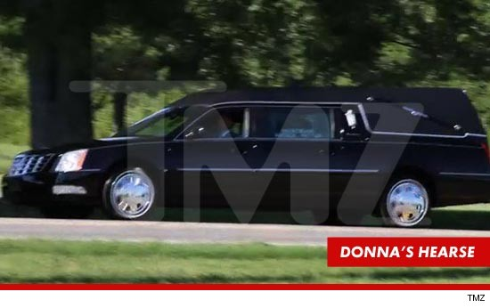 Donna Summer casket headed to burial