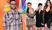 "Adam Levine on Kardashians: ""Who Gives a S**t?"""