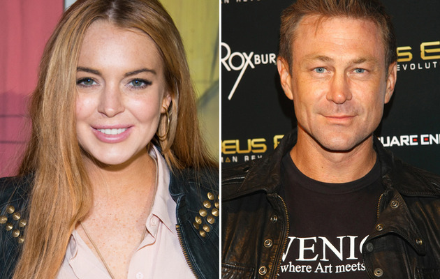 Meet Lindsay Lohan's Hunky New Costar For Liz Taylor Biopic