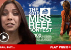 Miss Reef Calendar Contestant -- Forget My