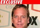 Kiefer Sutherland Popped for DUI