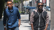 Ray J -- Shopping Trip After Hospital Scare