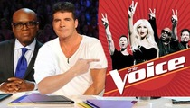 Simon Cowell's Advice to 'X-Factor' Rejects ... Try 'The Voice'