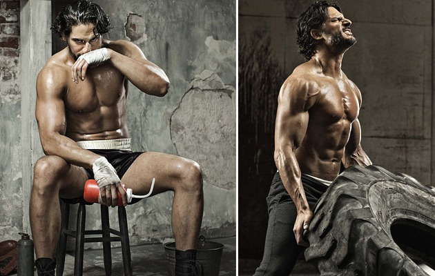 Joe Manganiello: Shirtless & Sweaty for Men's Health