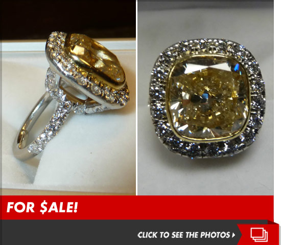 Taylor Armstrong Engagement Ring listed on eBay