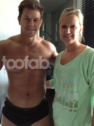 Mark Wahlberg&#039;s Personal Spray Tanner Shares Hot Pics From Set!